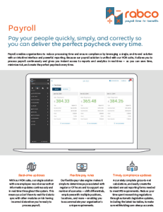 Payroll Suite Key Benefits