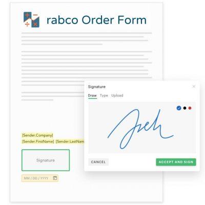 rabco order form