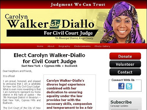 Walker-Diallo website