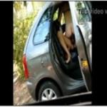 Image Corno filma mulher dando pro amante dentro do carro