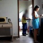 Image Casada deu a buceta pro encanador caiu na net