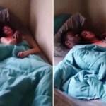 Image Corno pega esposa no flagra com amante e vaza vídeo na internet