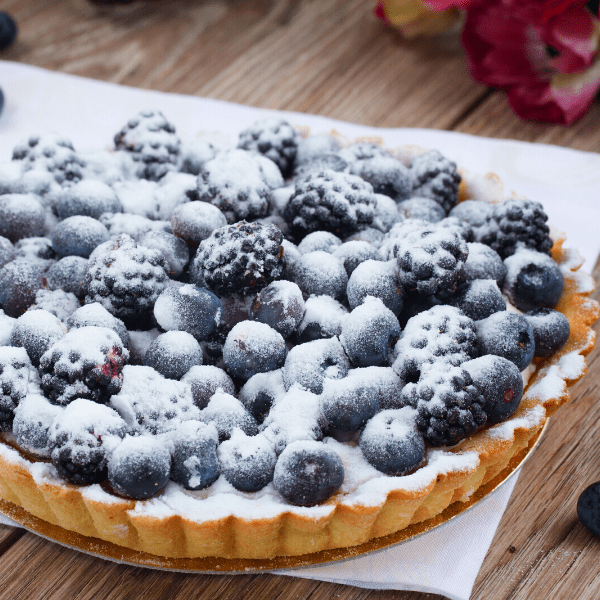Crostata di Mirtilli