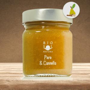 Marmellata Bio Pera & Cannella