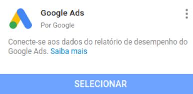 google ads para usar em dashboard