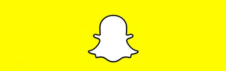 Logo da mídia social Snapchat