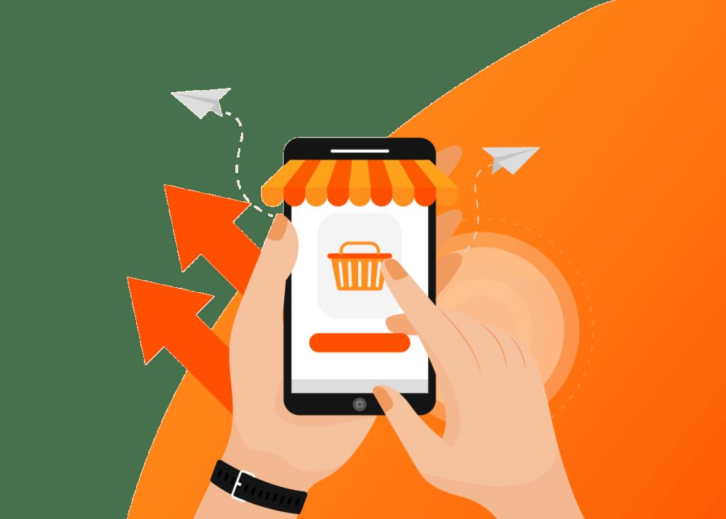 Informações de compras online podem ser captadas e analisadas assim como compras realizadas em lojas físicas.