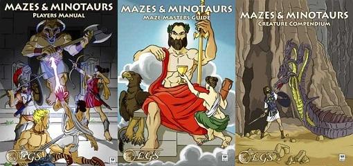 Mazes & Minotaurs - Core Books