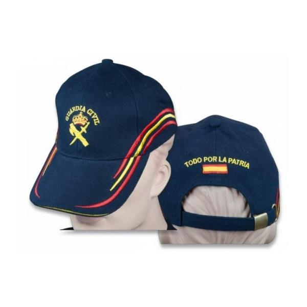 GORRA GUARDIA CIVIL BORDADA