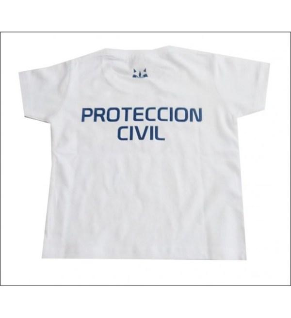 CAMISETA M/C RACCOON PROTECCION CIVIL ADULTO