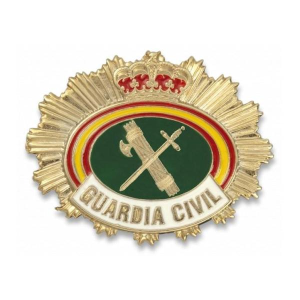 CHAPA CARTERA GUARDIA CIVIL