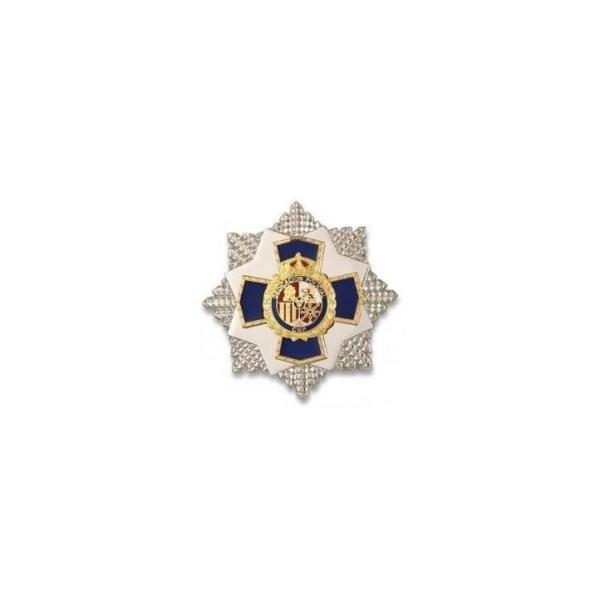 PLACA A LA DEDICACIÓN POLICIAL XXXV AÑOS