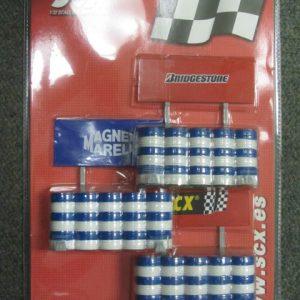 SCX Tire Barriers 88100 Bridgestone Magnum SCX