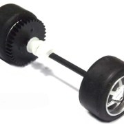 Scalextric W8965 Ford GT rear axle assembly
