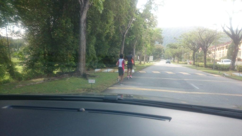 Run and Swim training today DSC_0280DSC_0283-at Meru Valley Resort