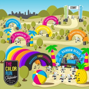 The Color Run KL 2017 Event - Race Connections