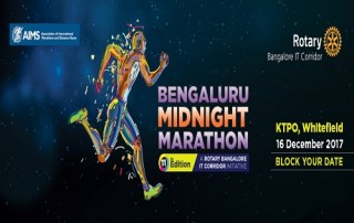 Bengaluru Midnight Marathon, Half Marathon, 10k - Race Connections