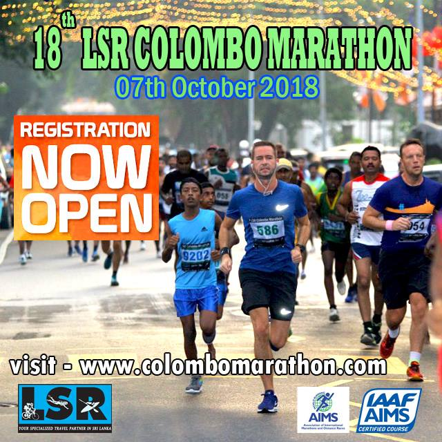 The International LSR Colombo Marathon 2018 - Race Connections
