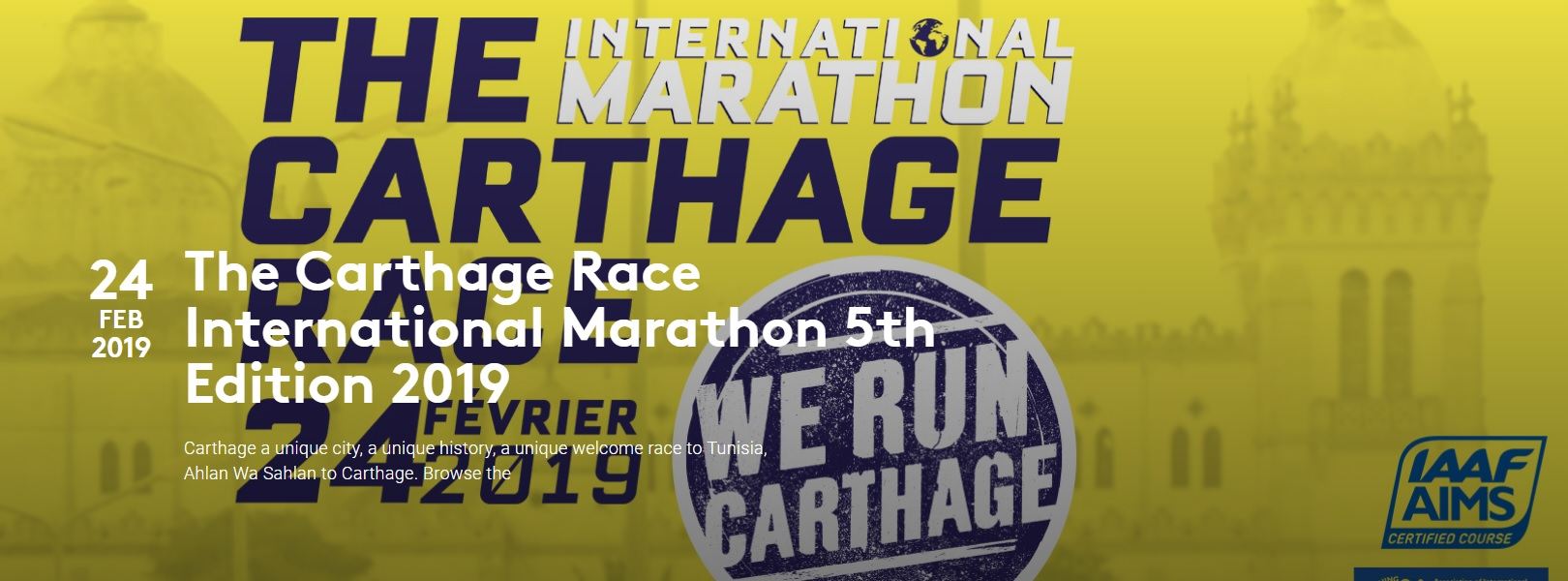 The Carthage Race International Marathon 5th Edition 2019 - Race Connections