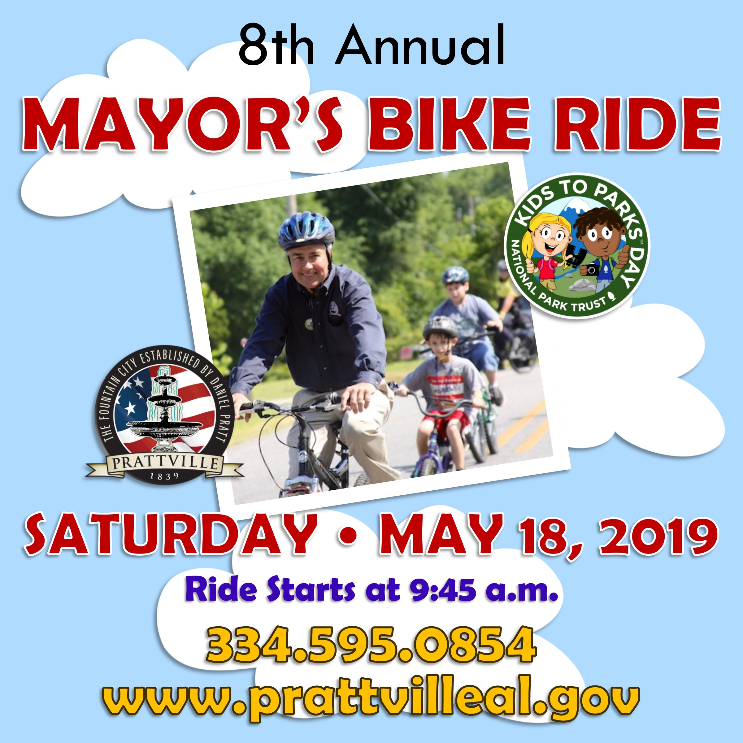 Mayor's Bike Ride Event 2019 - Race Connections