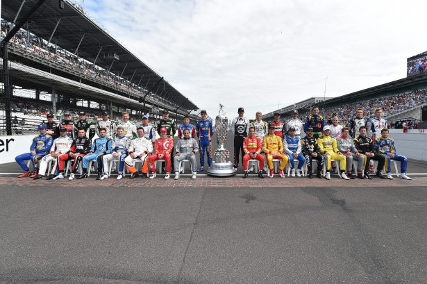 The entire 2016 Indy 500 field. Photo by Chris Jones