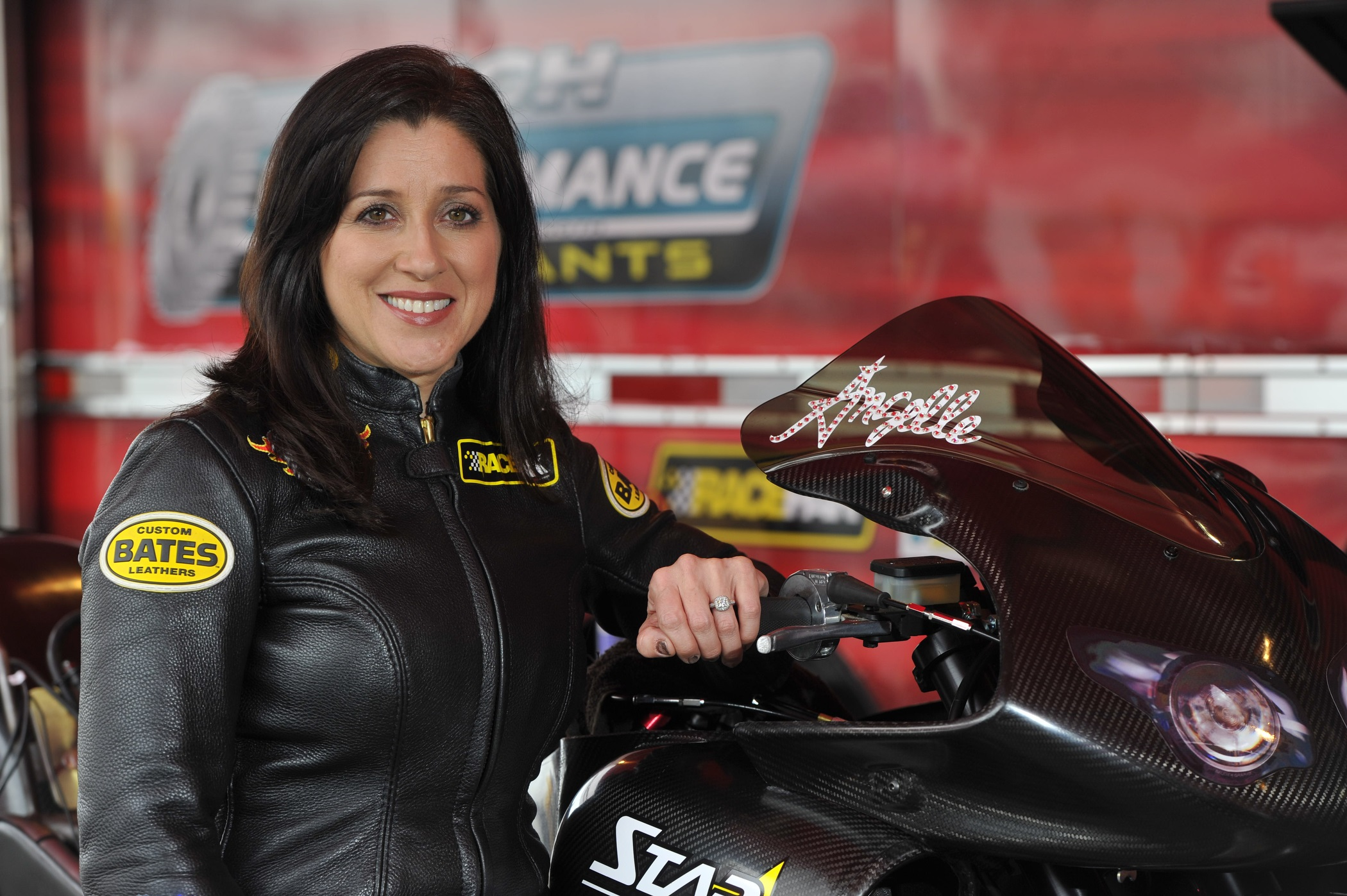 Angelle Sampey NHRA champion