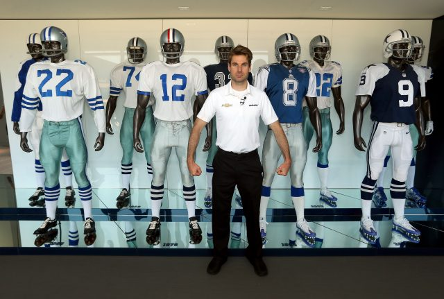 super popular 81706 79fc2 Indy 500 winner Will Power visits Dallas Cowboys' The Star ...