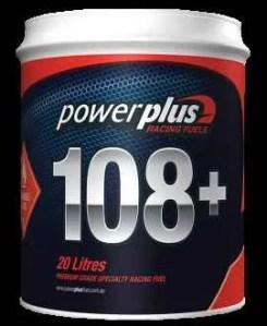 Powerplus 108+ Unleaded Racing Fuel