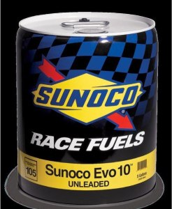 Sunoco EVO 10 Unleaded Racing Fuel