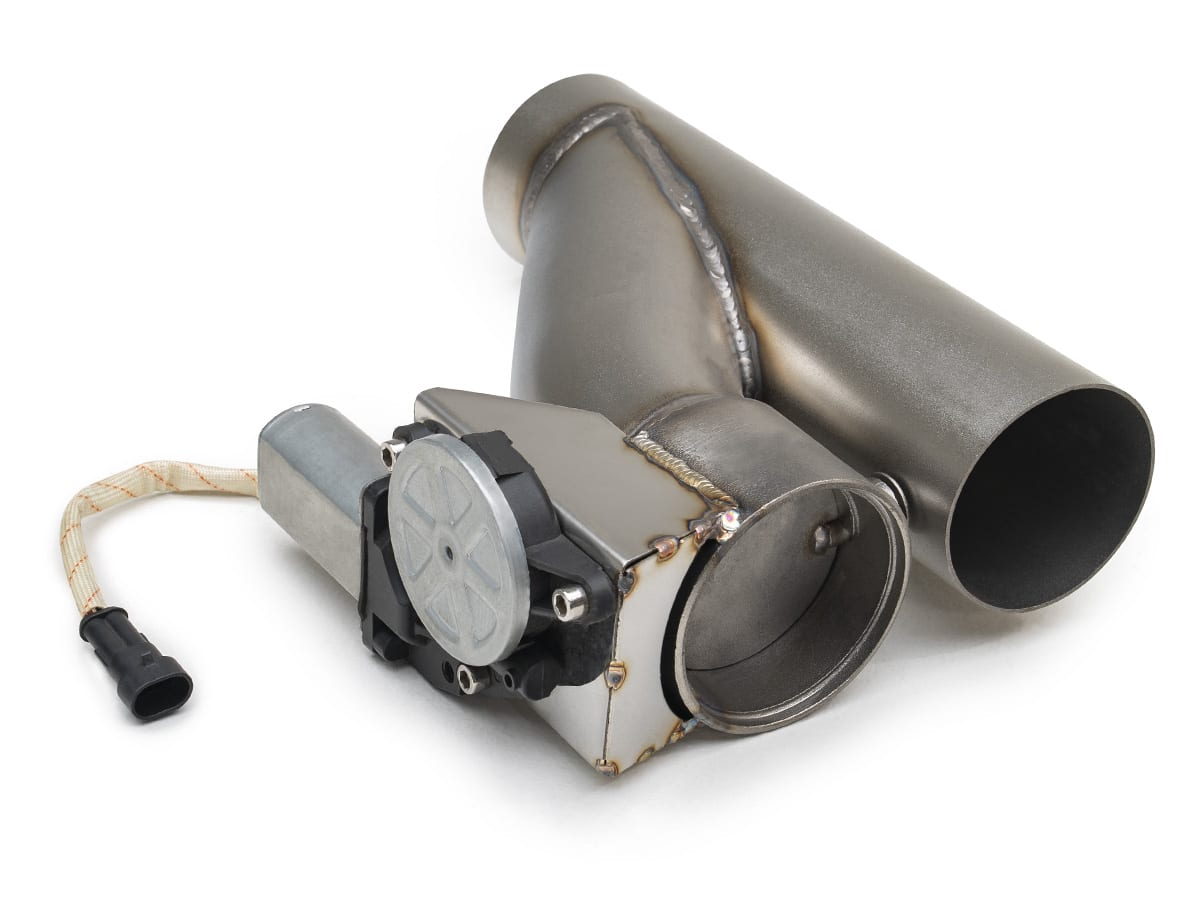electric cut out 3 exhaust system