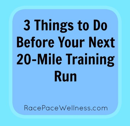 Tips for your next long run