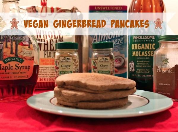 Recipe: Vegan Gingerbread Pancakes