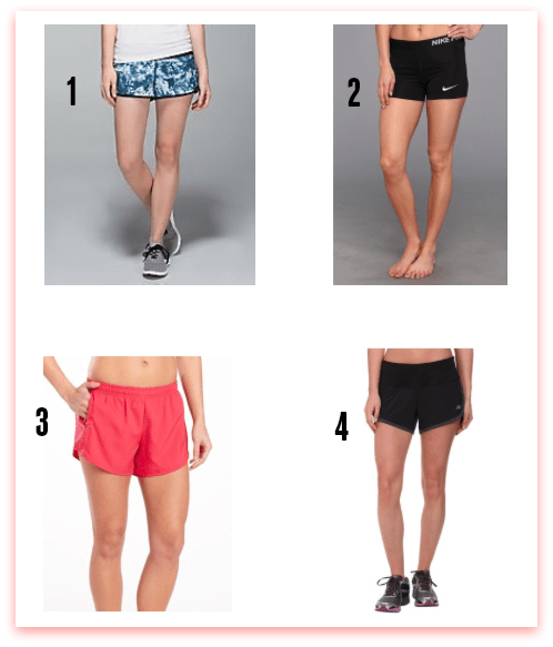 The Skinny on this Season's Run Shorts