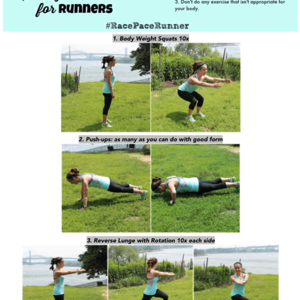 15 Minute Equipment-Free Strength Workout for Runners