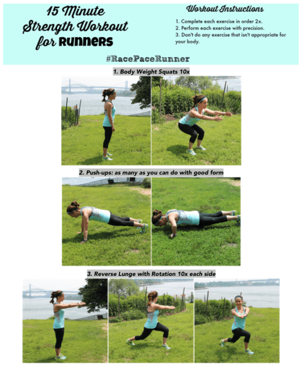 15 Minute Strength WO for Runners