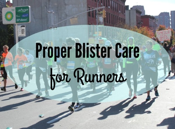 Blister Care For Runners