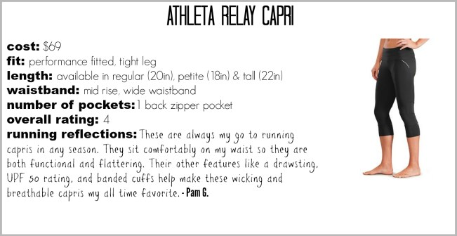 Athleta Relay Capri