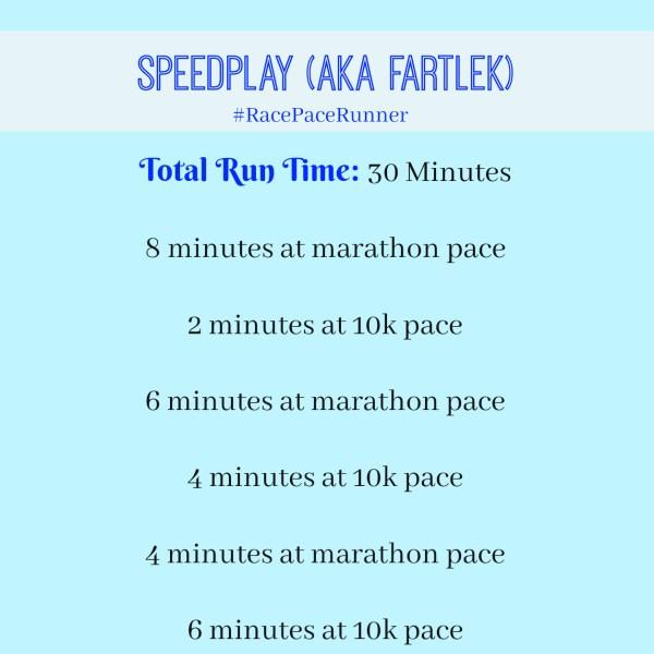 fartlek- workout
