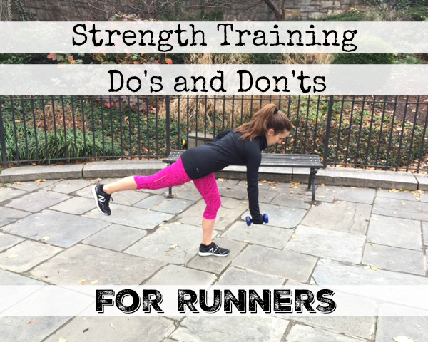 Strength Training Do's and Don'ts for Runners