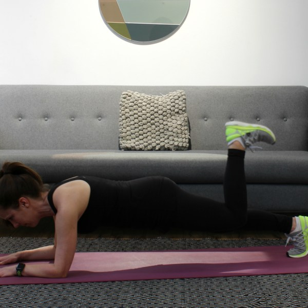 Quick Post-Run Core & Glute Workout