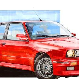 BMW M3 e30 Print