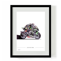 Jonathan Rea superbike art