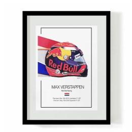 Max Verstappen F1 Art