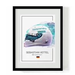 Sebastian Vettel 2020 Helmet