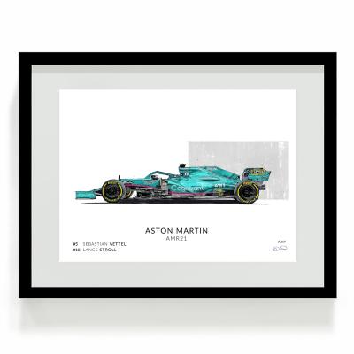 Sebastian Vettel f1 art print