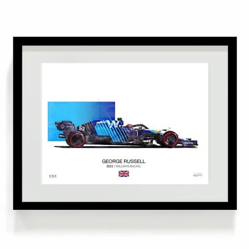 George Russell F1 Art Williams Racing F1