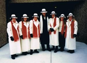 1988 Olympic womens ski team