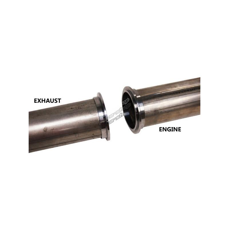 v band clamp flanges kit 95mm 3 75