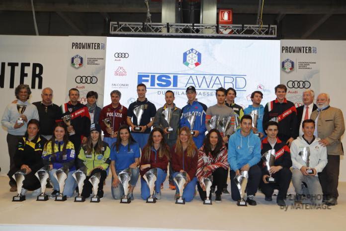 I protagonisti del Gran Premio Italia a Prowinter ©FISI/Pentaphoto
