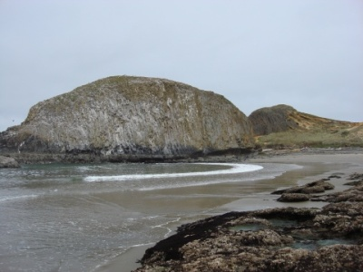 Seal Rock, near Waldport. Great place for tidepools and kite flying.